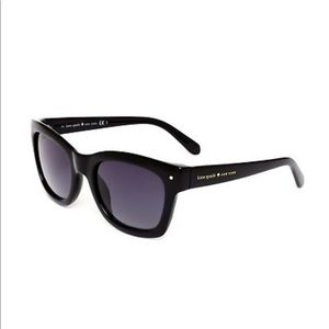 Kate Spade Sunglasses (Kisha) Black, Women's